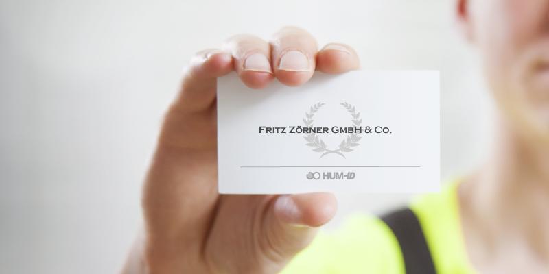 Neuer Partner: Fritz Zörner GmbH u. Co.