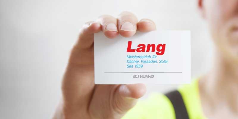 Neuer Partner: Lutz Lang GmbH