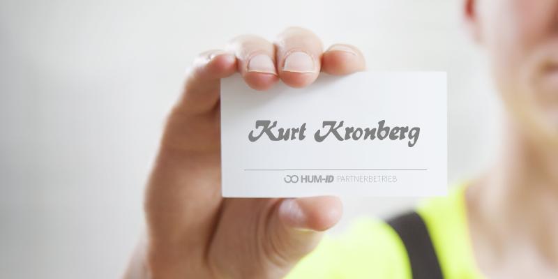 Neuer Partner: Kurt Kronberg GmbH