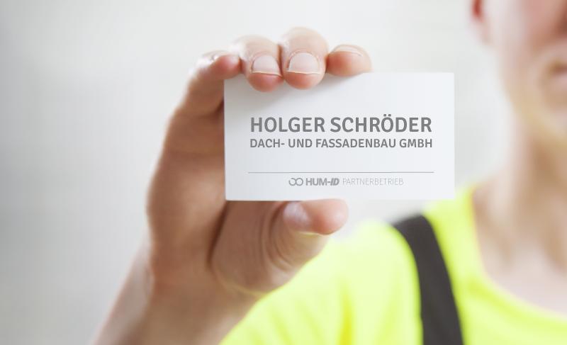 Neuer Partner: Holger Schröder Dach- und Fassadenbau GmbH