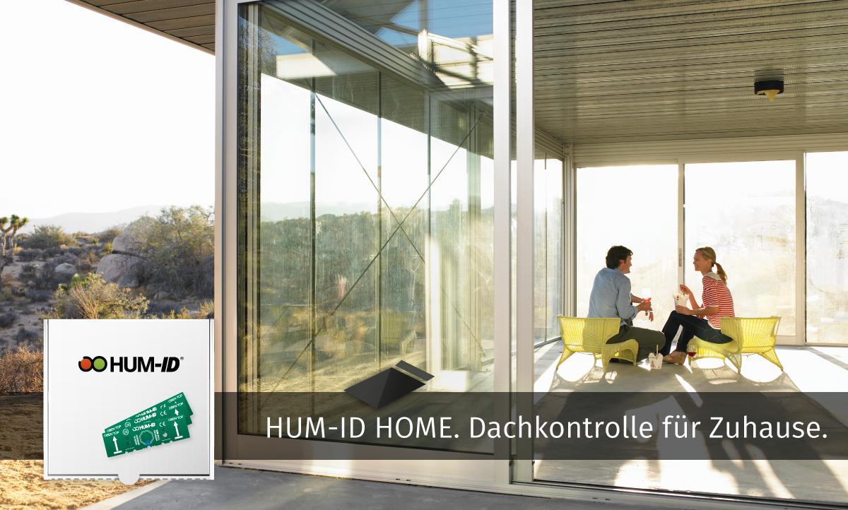 Hum-ID Home Dachkontrolle fürs Eigenheim