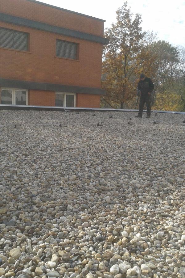 Dachscan Dachkontrolle Dachscanner, Test, Dachdecker, Leckortung