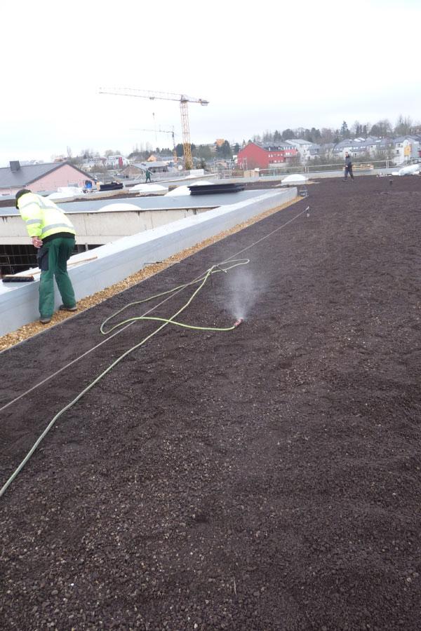 Dachscan Dachkontrolle mit Dachscanner Wässerung 2