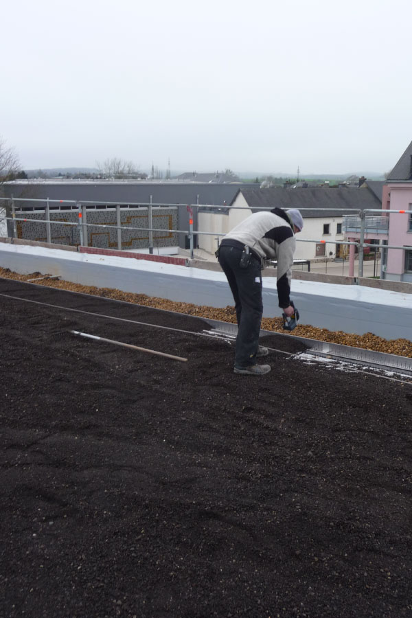 Dachscan Dachkontrolle mit Dachscanner