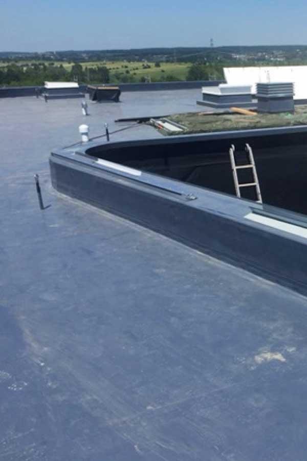 Baubesprechung Architekt Sensoren Dachkontrolle Leckortung eingebaut