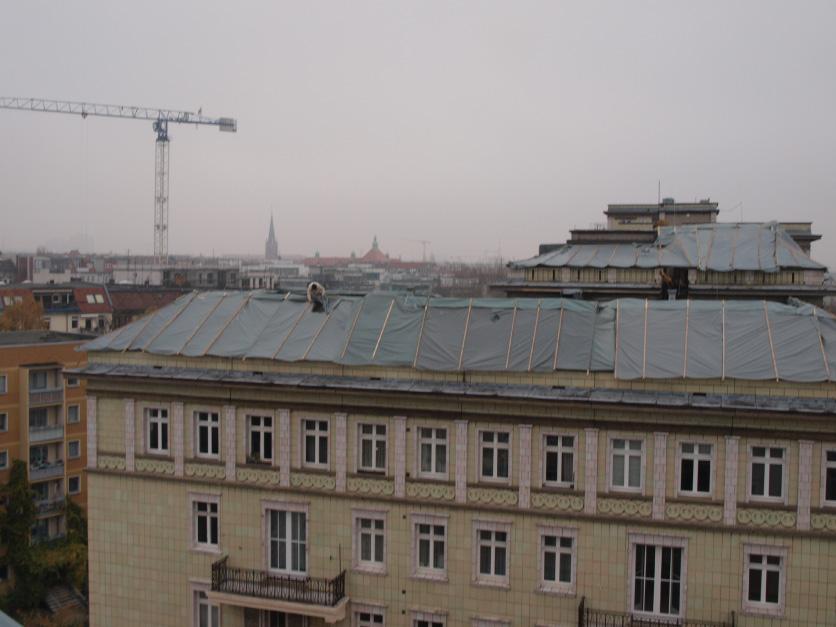 Leckortung Sensoren Flachdach Berlin, Aussicht