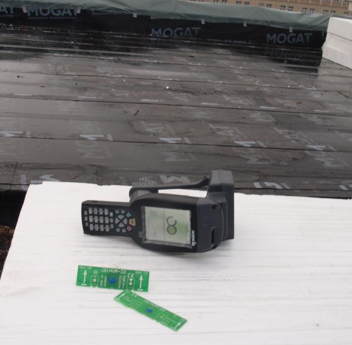 Hum-ID Referenzen Frankfurter Tor Einbau Sensoren, Dämmung und Scanner