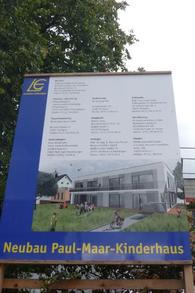 Hum-ID Neubau Paul-Maar-Kinderhaus
