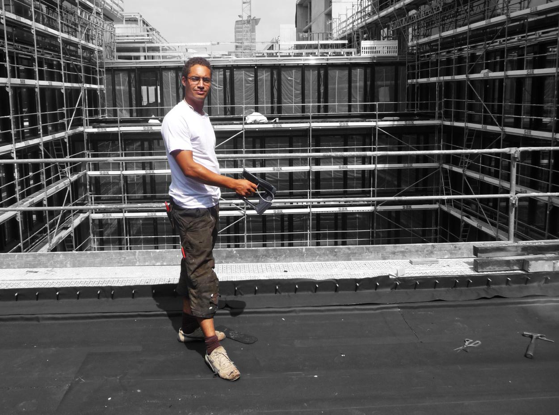 Hum-ID Auslesen auf dem Dach (4c)