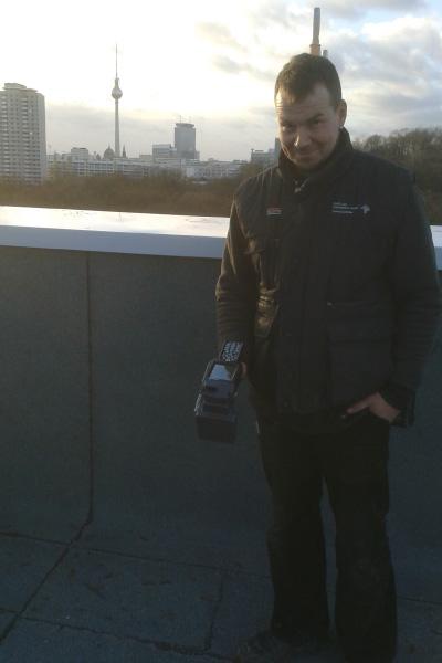 Sensoren einlesen, Dachkontrolle, Berlin, Alexanderplatz