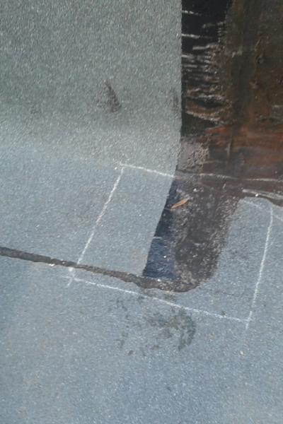 Sensoren einlesen, Dachkontrolle, Abdichtung