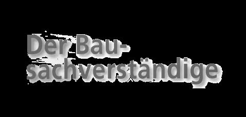 Logo Der Bausachverständige