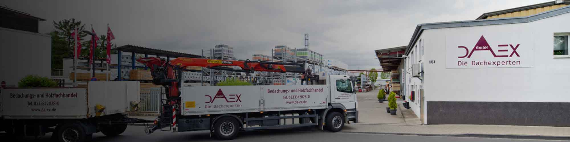 Neuer Vertriebspartner DAEX GmbH- die Dachexperten