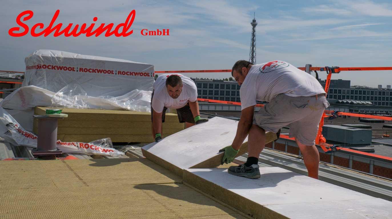 Experte für große Flachdächer: Bedachungen und Holzbau Schwind